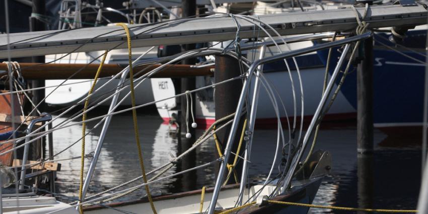Foto van zeilboten in jachthaven | Archief EHF