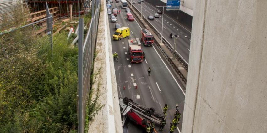 Foto van ongeval bij botlektunnel | Flashphoto | www.flashphoto.nl