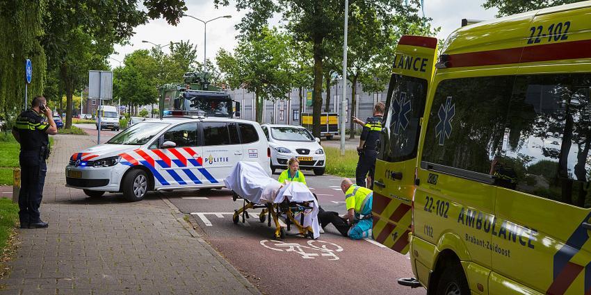 Fietser gewond na aanrijding in Eindhoven