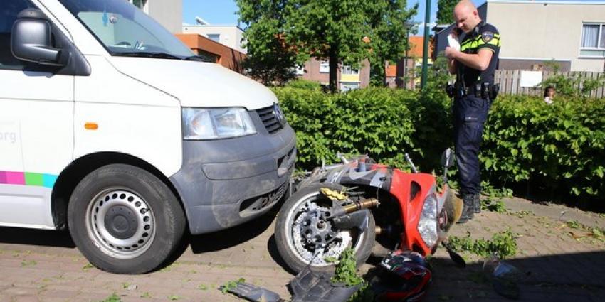 Motorrijder gewond na botsing met auto in Boxtel