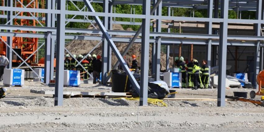 Foto van bouwterrein