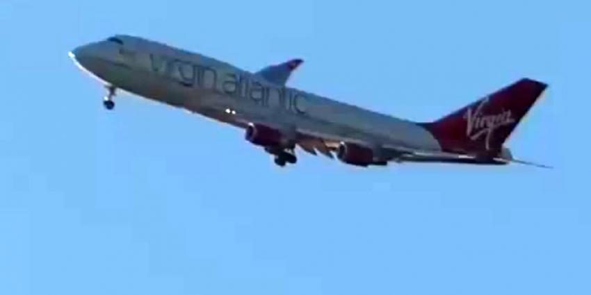 Boeing 747 maakt noodlanding op Gatwick