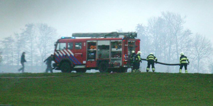 foto van grote brand Volendam | Miranda van der Sloot
