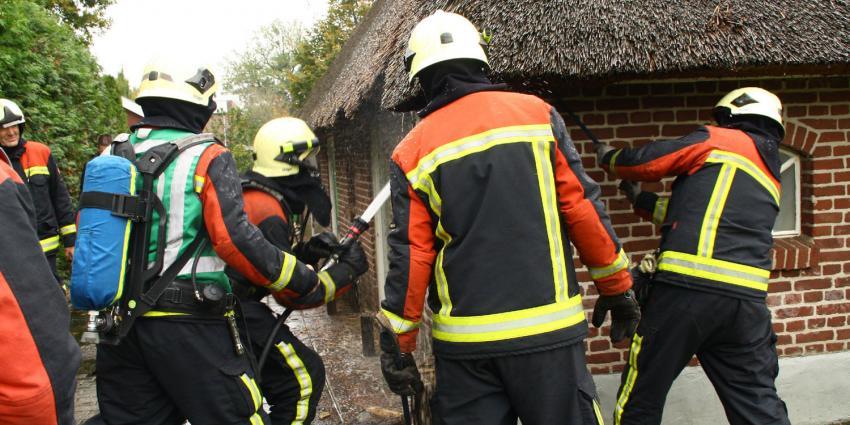 Zeer grote brand in Volendam