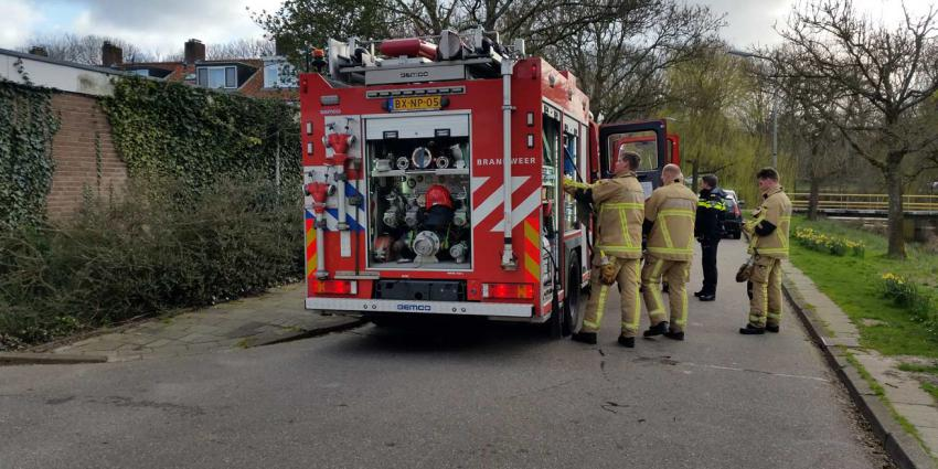 Woningbrand Uithoorn snel onder controle
