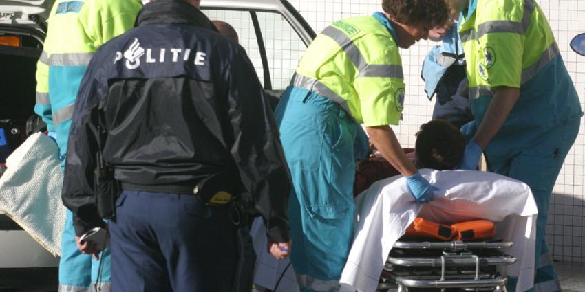 Foto van brancard ambulance politie | Archief EHF