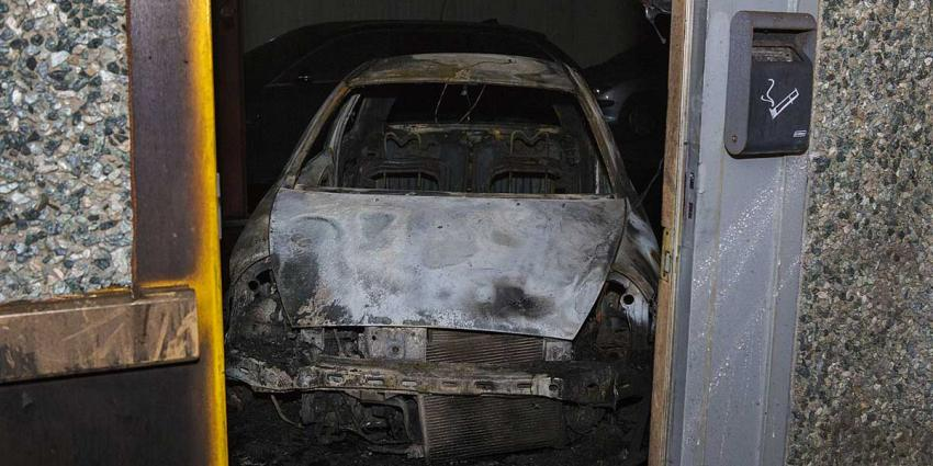 Veel rookontwikkeling bij felle brand in bedrijfspand Den Bosch
