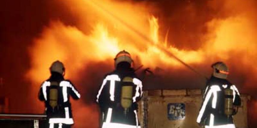 Grote brand in Limburgse palletopslag Bingelrade