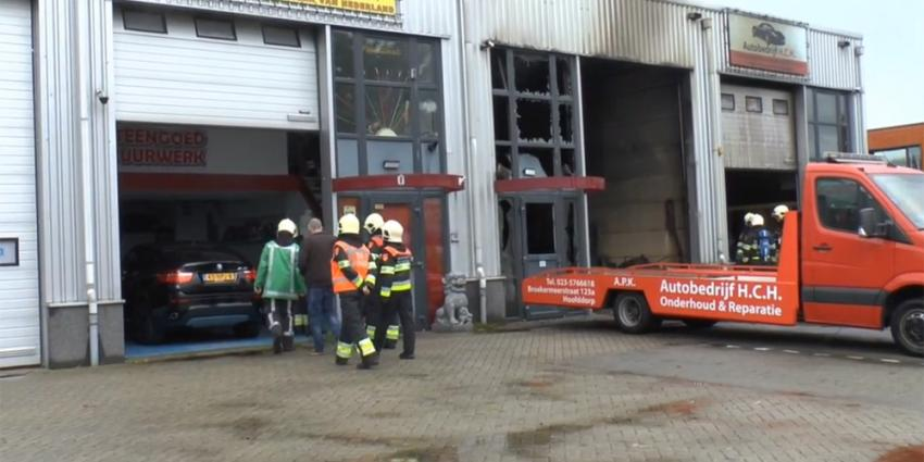 Foto van brand in garage | KJH