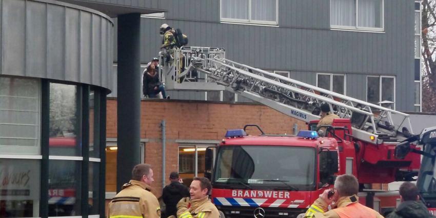 hotel ontruimd door grote brand