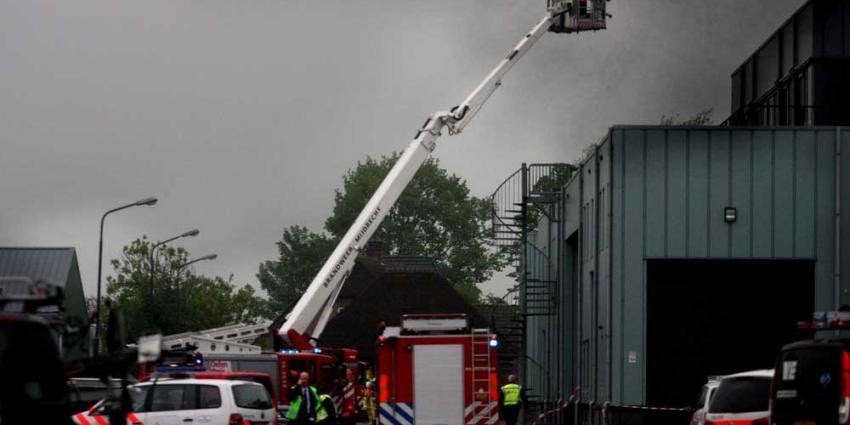 Foto van brand industrieterrein De Kwakel | EHF