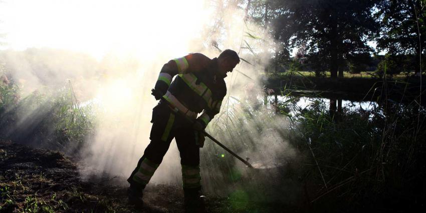 brandweerman-brandhaard