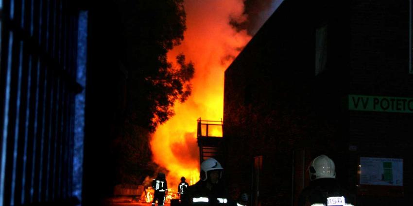 Brand in clubgebouw drie Groningse voetbalverenigingen