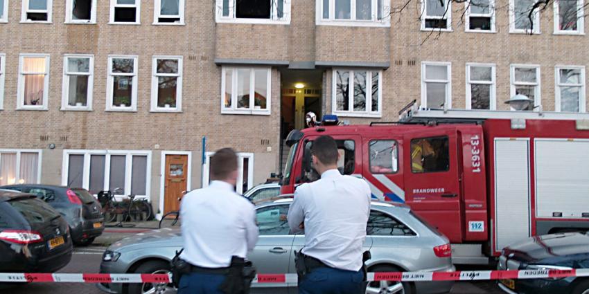 Foto van brand in voormalige woning Anne Frank   Miranda van der Sloot
