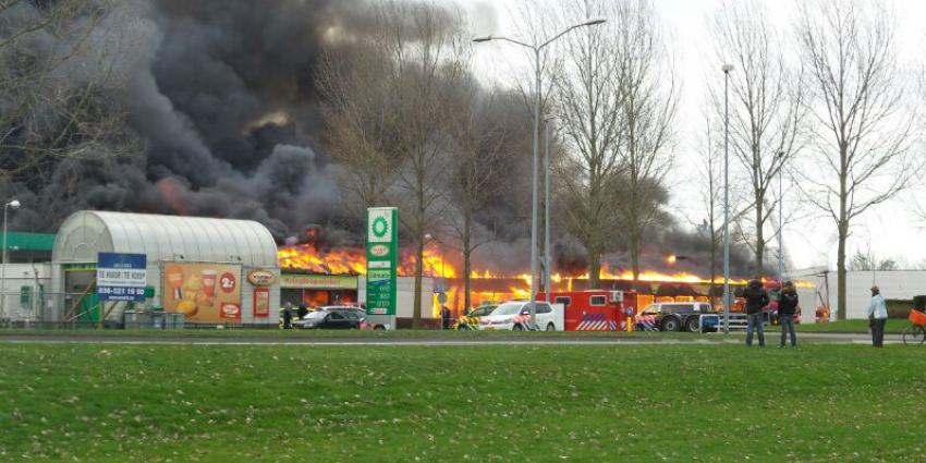 Kringloopwinkel Almere reddeloos verloren door brand