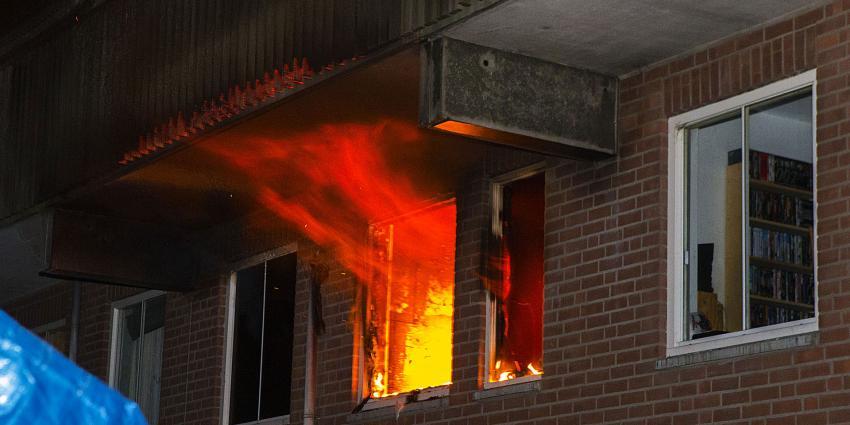 Uitslaande woningbrand Boxtel
