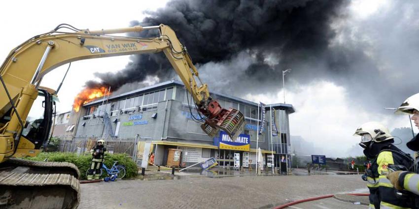 Foto van grote brand IJsselstein | Aneo Koning | www.fotokoning.nl