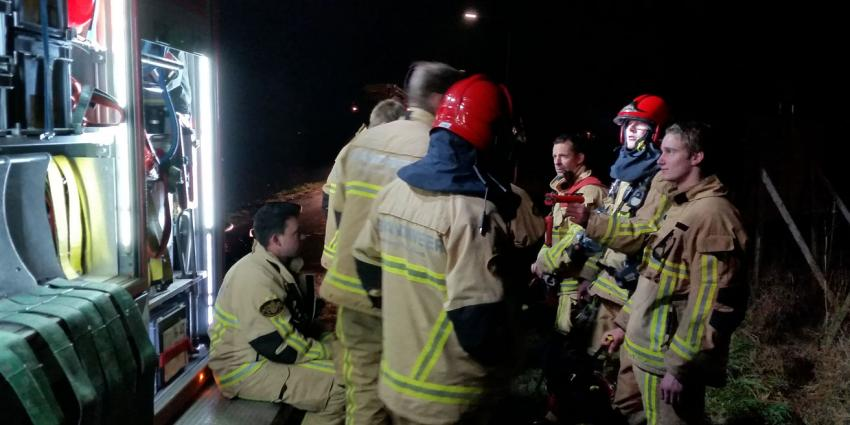Grote brand bij Bofkontboerderij in Amstelveen