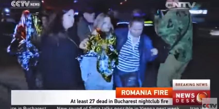 Brand in Roemeense nachtclub kost zeker 27 mensen het leven