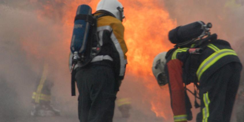 Auto in Heerlen ontploft