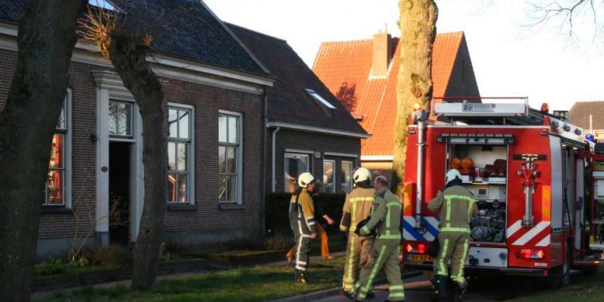 Brandweer heeft woningbrand Rolde snel onder controle
