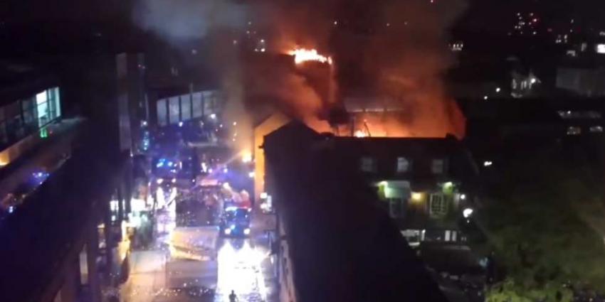 Opnieuw grote brand in Londen
