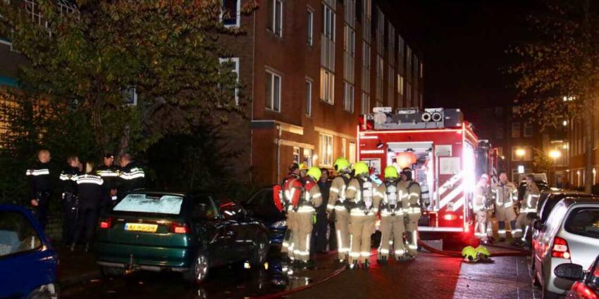 Brandweer heeft woningbrand snel onder controle
