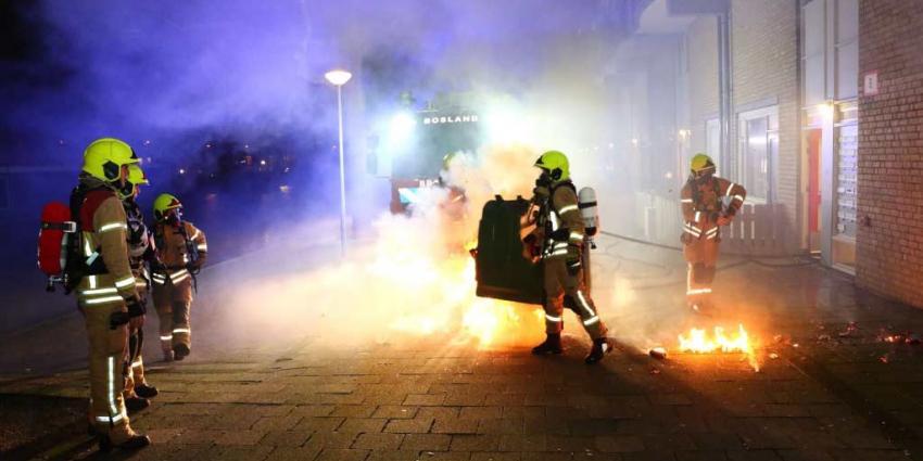 Tiener (14) aangehouden op verdenking brandstichtingen