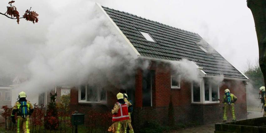 Veel schade na brand in meterkast woning