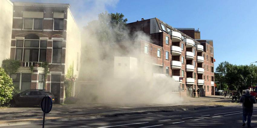 Brand in appartementencomplex Leiden