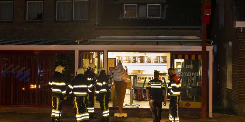 Horecaondernemer in Boxtel blust brand in eigen bedrijfskeuken