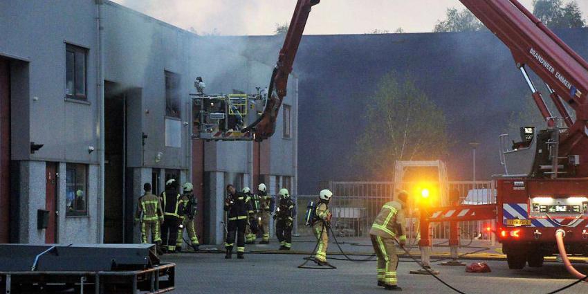 Brand verzamelgebouw in Emmen
