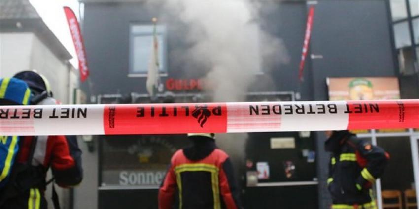 Brand in café in centrum Assen