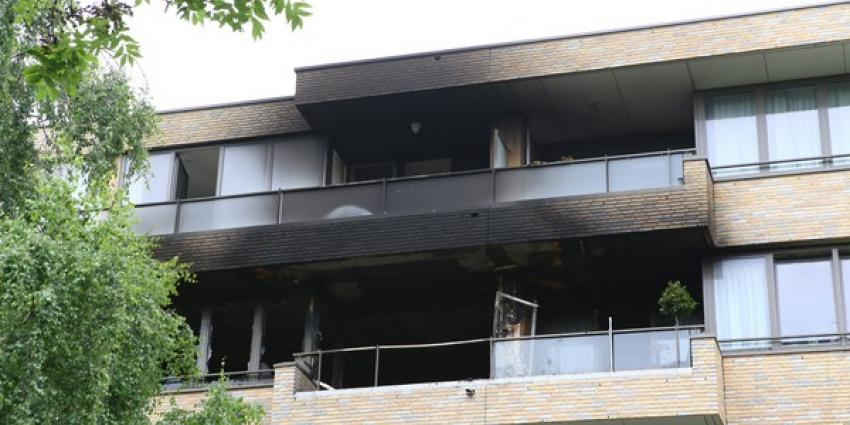 Woningen onbewoonbaar door brand in seniorencomplex Den Bosch