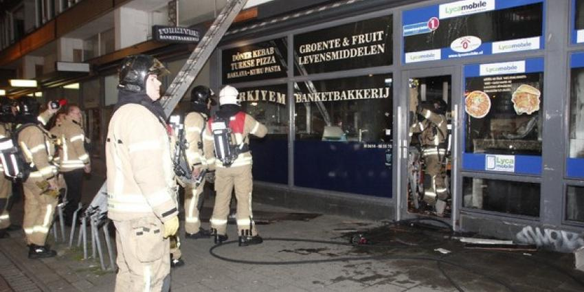 Brand in Turkse bakkerij