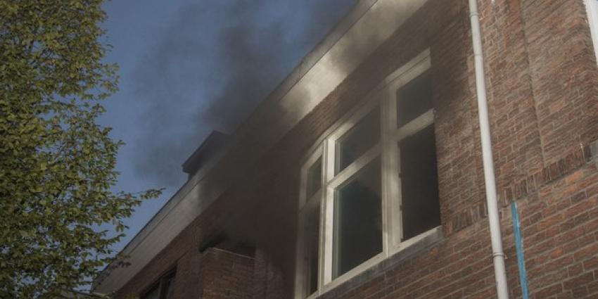 Gewonde bij brand in woning Schiedam