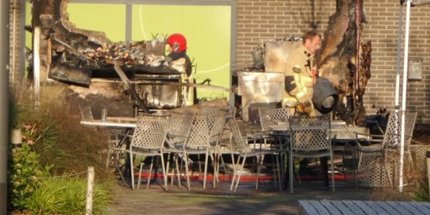 Gewonden bij explosie frietkraam