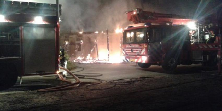 Brand op GGZ-terrein Assen