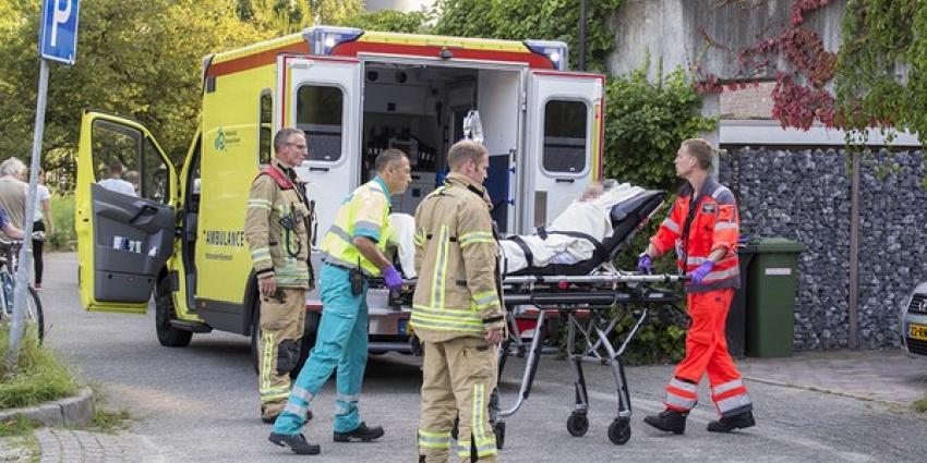 Vrouw gewond na brand in woning Vlaardingen