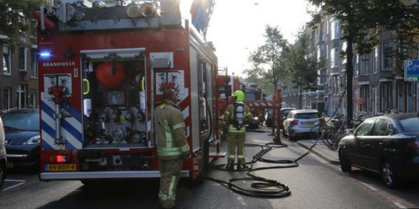 Gewonden bij uitslaande brand in Rotterdam
