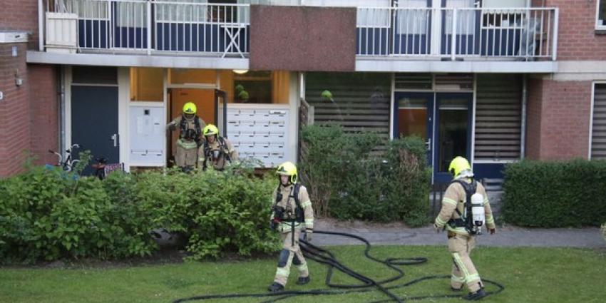 Drie kinderen gewond bij woningbrand in Rotterdam-Zuid