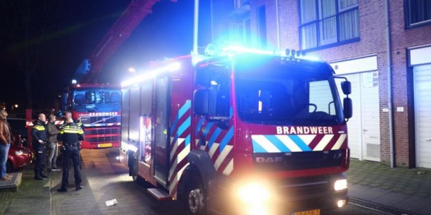 Vier personen gered bij middelbrand woning Schiedam