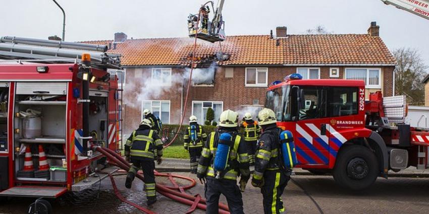 Uitslaande brand treft tussenwoning aan de Selissenwal in Boxtel