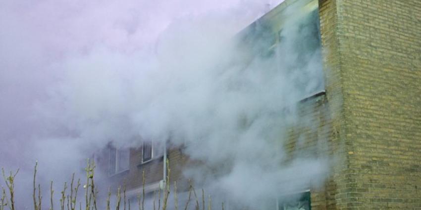 Brand in woonhuis Vlaardingen | Flashphoto | www.flashphoto.nl