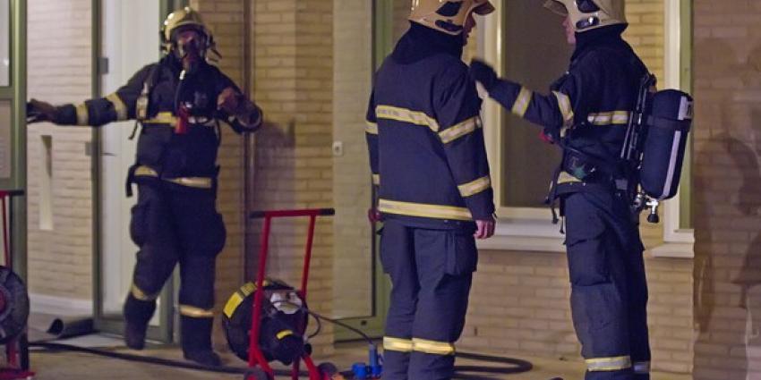 Zeven mensen naar ziekenhuis na brand appartementencomplex Wildervank