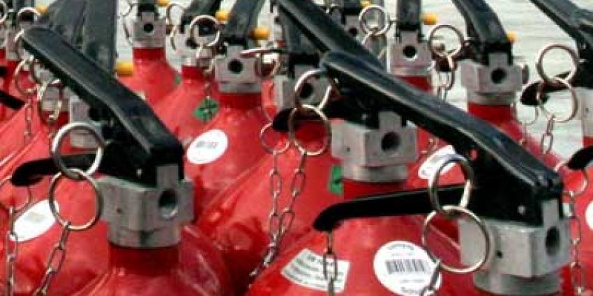 Foto van brandblussers | Archief EHF