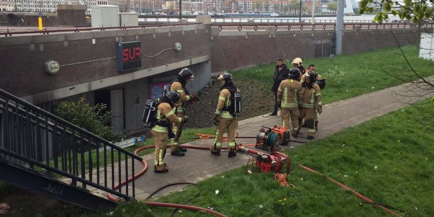 Brand nabij club Social Underground Rotterdam