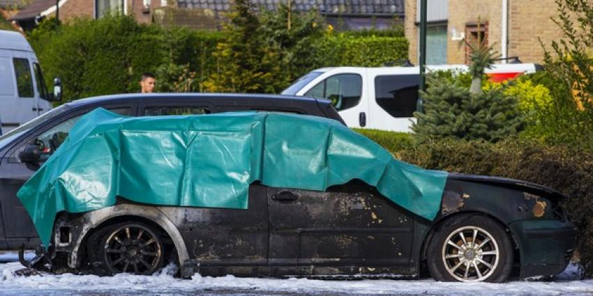 Lichaam gevonden in uitgebrande auto Helvoirt