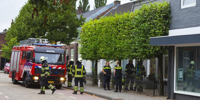 Brandweer rukt uit voor overhitte strijkbout