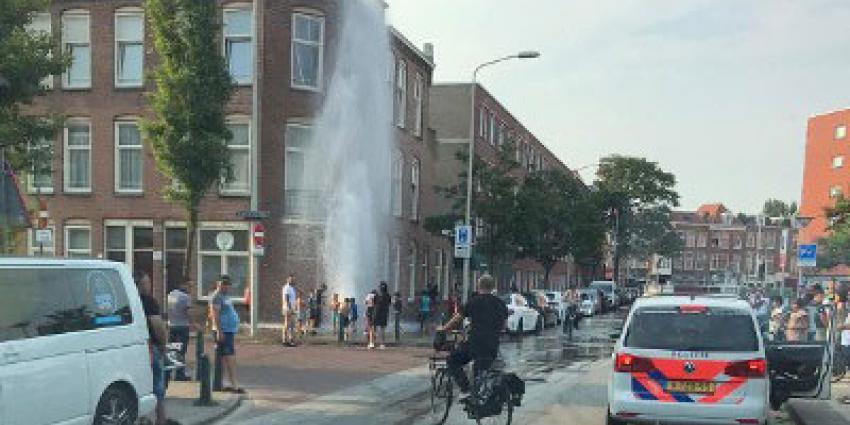 Aanhoudingen na opendraaien brandkranen Den Haag